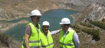 El pantano de Cuevas del Almanzora contiene 22,3 hectómetros cúbicos de agua, un 25% menos que hace un año