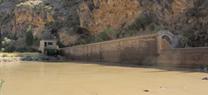 El pantano de Benínar contiene 5,13 hectómetros cúbicos de agua, un 69% menos que a finales de junio de 2013
