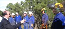 El Plan de Choque de la Junta genera 1.500 jornales en trabajos de prevención de incendios forestales en Los Filabres
