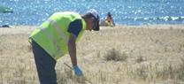 La Junta refuerza con el Plan de Choque por el Empleo la limpieza de las playas no urbanas del Parque Natural Cabo de Gata-Níjar