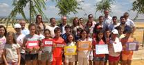 Serrano destaca el papel de los espacios verdes urbanos en la sensibilización y la educación ambiental de los ciudadanos