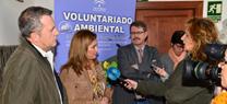 María Jesús Serrano destaca el papel del voluntariado ambiental en la gestión de los espacios naturales andaluces