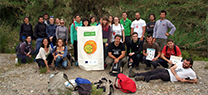 El proyecto Ecocampus ha formado en voluntariado ambiental a miembros de la comunidad universitaria de Almería