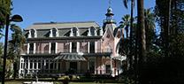 Los jardines románticos de Casa Rosa reciben desde su apertura en octubre un total de dos mil visitantes