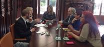 Serrano se reúne con la Confederación de Asociaciones Vecinales de Andalucía para abordar temas de interés común