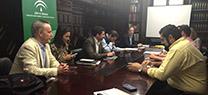 Primera reunión de la comisión técnica sobre el planeamiento urbanístico de Marbella