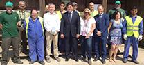 """La Junta y """"la Caixa"""" desarrollan proyectos de conservación en la desembocadura del río Guadalhorce y zonas afectadas por los incendios de 2012 en diversos municipios de la provincia"""
