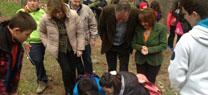 Cerca de 200 alumnos jiennenses participan en las actividades conmemorativas por el Día Internacional de los Bosques
