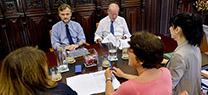 Medio Ambiente apuesta por la colaboración con la Diputación de Sevilla para avanzar en las actuaciones en materia de aguas