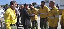 Fiscal destaca el papel determinante de la colaboración ciudadana en la lucha contra los incendios forestales