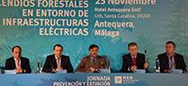 José Fiscal resalta la colaboración entre Administraciones y entidades para luchar contra los incendios forestales