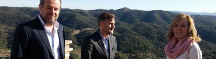 El consejero de Medio Ambiente y Ordenación del Territorio destaca las ventajas de la gestión integrada del monte