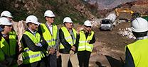 La Junta centra la recuperación del incendio de la Sierra de Lújar en la corrección hidrológica y la restauración forestal