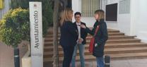 María Jesús Serrano aborda con la alcaldesa de Fuente-Tójar asuntos relacionados con la gestión del agua