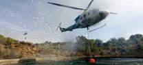 La Junta comienza el despliegue de medios aéreos para la extinción de incendios forestales durante la campaña 2015