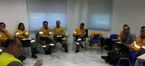 Medio Ambiente forma a técnicos del Plan INFOCA en el Sistema de Entrenamiento Integrado de Lucha contra Incendios Forestales