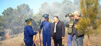 La Junta realiza trabajos de prevención de incendios forestales en los meses de peligro medio y bajo
