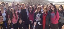 Un centenar de alumnos marteños y jiennenses participa en Alcaudete en una jornada divulgativa sobre los humedales