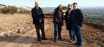 Las obras de clausura y sellado del vertedero de residuos inertes en Baños de la Encina en Jaén afrontan su recta final