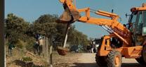 La Junta recupera para uso público un tramo del Cordel de Villanueva y Minas en El Pedroso