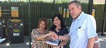 Las obras de mejora del punto limpio de Torredelcampo acaban tras una inversión de la Junta de más de 221.000 euros
