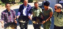 El programa de conservación del aguilucho cenizo permite localizar este año más de 100 nidos en la provincia jiennense