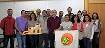 Antonio Martínez alaba el trabajo de la Red de Voluntarios Ambientales del Parque Natural Sierra Maria-Los Vélez