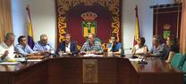 La Junta informa de los primeros trabajos que se acometerán en la zona afectada por el incendio de Quesada