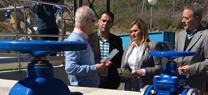 Medio Ambiente invierte 2,37 millones de euros en la nueva depuradora de Cuevas del Becerro en Málaga