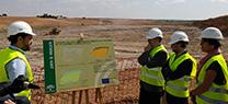 Medio Ambiente inicia las obras de sellado y clausura del vertedero de inertes de Écija
