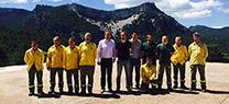 La Junta valora el trabajo de los Cedefos en las tareas de vigilancia, detección y extinción de incendios forestales