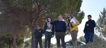 La Junta finaliza la restauración  forestal del Parque Periurbano de la Dehesa del Generalife