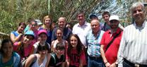 70 jóvenes de Adra celebran en las Albuferas el Día Mundial de Biodiversidad y el 'Natura2000Day'