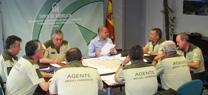 Los Agentes de Medio Ambiente de la Junta realizaron 62.100 actuaciones en el último año en la provincia de Almería