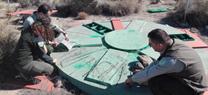 Agentes de Medio Ambiente encuentran métodos de captura prohibidos en el Paraje Natural Desierto de Tabernas