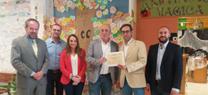 """El CEIP Fuente del Moral gana el premio""""Crece con tu árbol"""" por un proyecto de experiencia educativa y medioambiental"""
