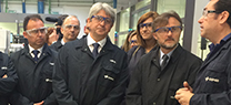 José Fiscal inaugura los nuevos laboratorios de Cepsa, unas instalaciones que posibilitarán una producción más sostenible