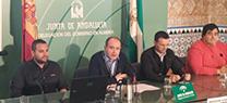 El municipio de Purchena acoge el proyecto europeo 'Communal Green Decisións' para intercambiar experiencias sobre buenas prácticas en medio ambiente