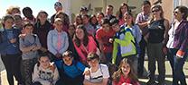 El Centro de Recuperación de Especies Amenazadas de Marismas del Odiel duplica el número de visitas de escolares