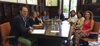 Fiscal se reúne con la Asociación de Mujeres Empresarias del Medio Ambiente y el Reciclaje para abordar temas de interés común
