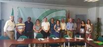 Primer encuentro de la Plataforma de Defensa del Acuífero del Río Aguas y la Delegación Territorial de Medio Ambiente y Ordenación del Territorio.