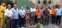 La Junta entrega material de protección y ayuda en la lucha contra el fuego a grupos de pronto auxilio de la provincia de Córdoba