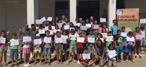La Escuela de Exploradores de Marismas del Odiel cierra el curso 2016 con la ocupación récord de casi 800 plazas