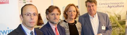 La Junta destaca Agwatec Spain 2016 como vía para promover la relación entre empresas, investigadores y productores
