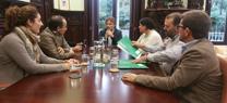 La Junta y los ayuntamientos de Almonte, Hinojos y Aznalcázar crean un frente común contra los proyectos de gas en Doñana