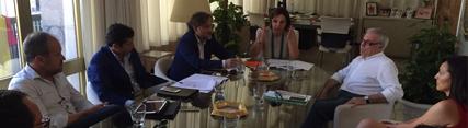 Fiscal mantiene un encuentro con la alcaldesa de Córdoba tras la modificación de la Ley de Ordenación Urbanística de Andalucía