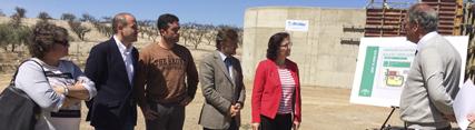 Medio Ambiente invierte 2,7 millones de euros en la agrupación de vertidos y la depuradora de Uleila del Campo