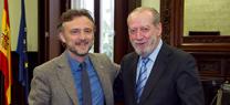 José Fiscal se reúne con el presidente de la FAMP para avanzar en la mejora de la gestión de los recursos hídricos en Andalucía