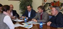 Reunión celebrada en Málaga con motivo de las inundaciones