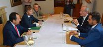 La Junta y el Ayuntamiento  de Málaga ultiman la firma del protocolo para favorecer la integración del río Guadalmedina en la ciudad